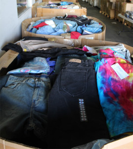 mixed apparel closeouts